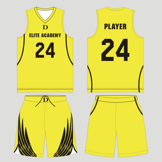 Personalized Sublimated Reversible Custom Basketball Uniform pictures & photos