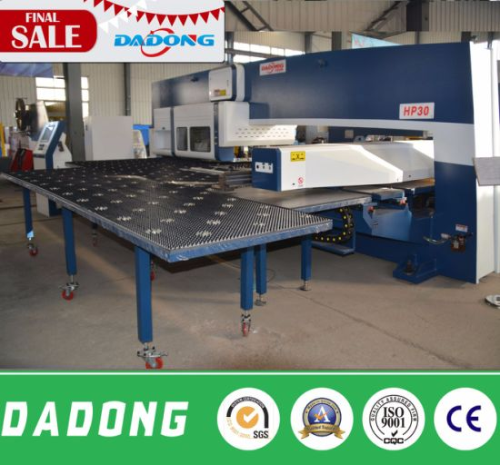 HP30 Hot Sale China High Precision Mini Hobby CNC 210 CNC Lathe/Punching Machine pictures & photos