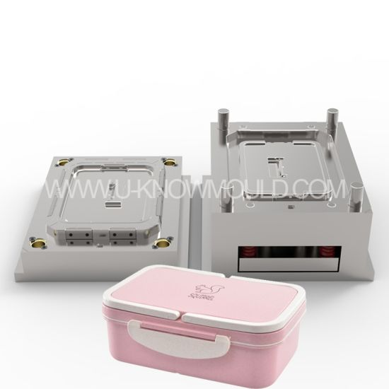 Plastic Food Lunch Box Container Injection Mould
