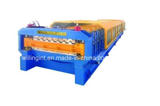 Double Layer Invert Box Roof Wall Panel Roll Forming Machine pictures & photos