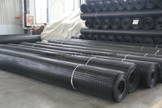 High Strength Steel Plastic Geogrid Prices pictures & photos