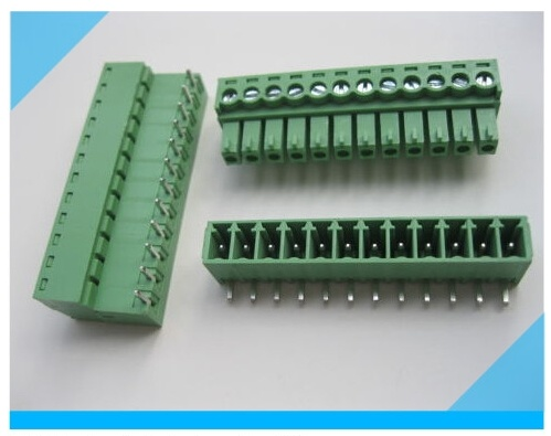 3.5mm 5.0mm 5.08mm Pitch Electronic Pluggable Terminal Block pictures & photos