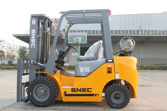 China 2.5tons Propane Gas Fork Lift Supplier