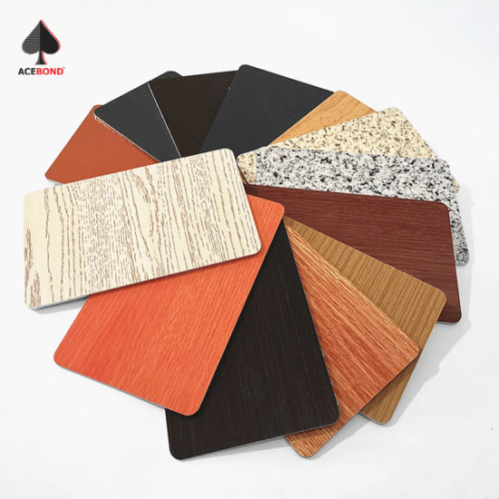 Fire Rated Building Materials Wall Panels ACP Sheet Aluminum Composite Panel