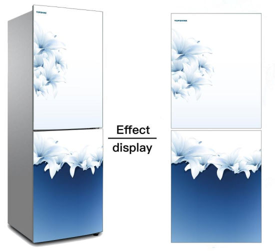 Customized Printed Tempered Glass for Refrigerator Door