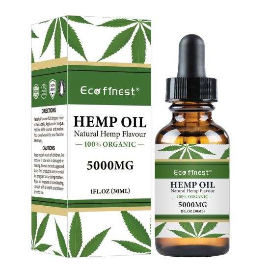 Fast Delivery 5000mg Pure Natural Organic Hemp Seed Essential Oil