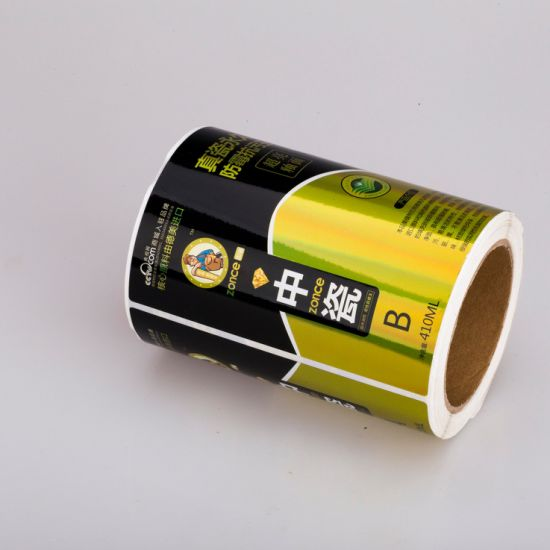 Competitive Price Printed Quality-Assured President Manufacturer Label Sticker