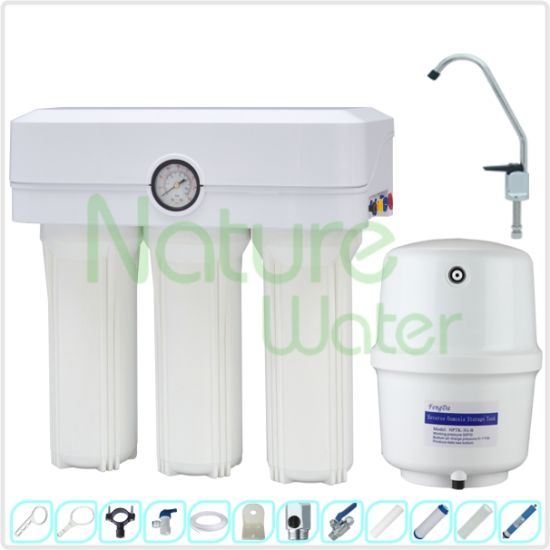 [Nw-RO50-K] 5 Stage RO Water Filter with Dust Proof Case