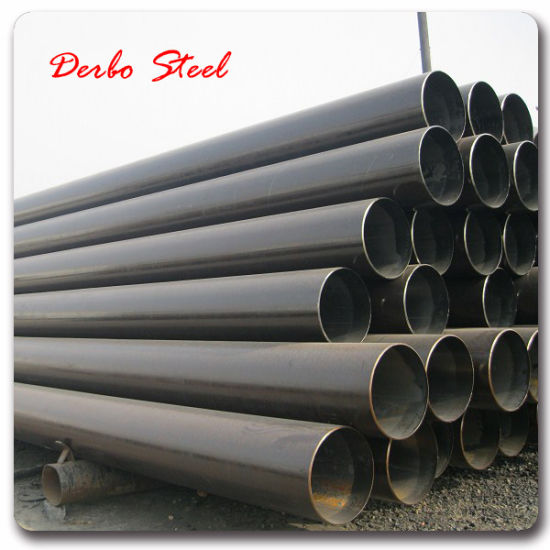 "ASTM A333 Gr. 6 22""*22.23mm Seamless Mild Steel Pipe pictures & photos"