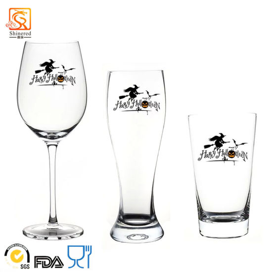 Customized Hand-Made Crystal Beer Glass pictures & photos