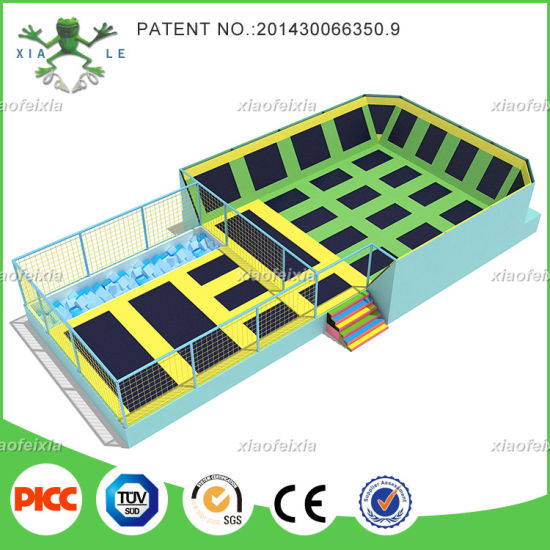 Long Time Warranty Made in China Indoor Trampoline Park Equipment for Sale pictures & photos