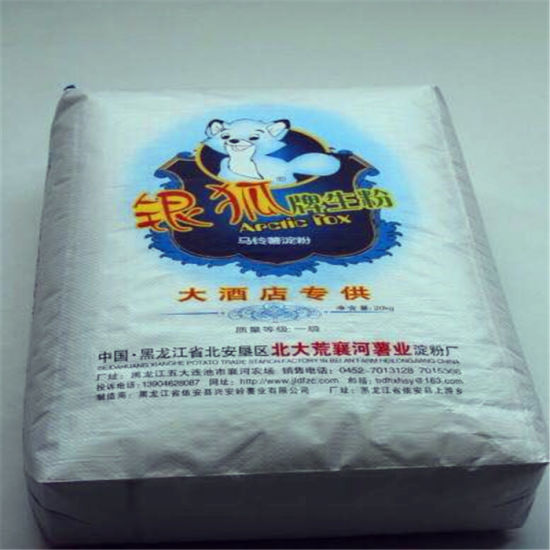 25kg PP Valve Bag/ Woven Packing Bag pictures & photos