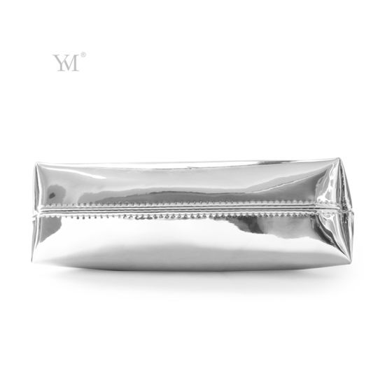 8827f1e7b97f China Shiny Luxury Cosmetic Pouch Toiletry Bag Leather Cosmetic Bag ...