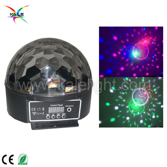LED Crystal Magic Ball Christmas Light Club Disco DJ Bar Party