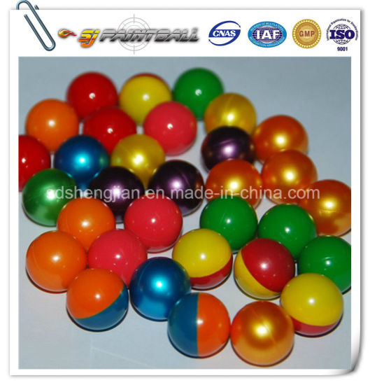 0.68 Colorful Peg Fill Paintball / Paintball Bullets for Sale