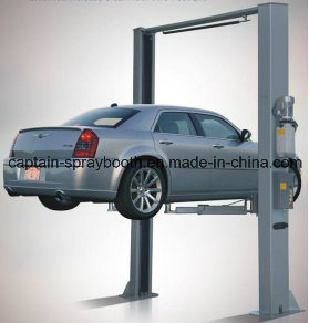 Ce Standard High Quality 2-Post Clear Floor Car Lift