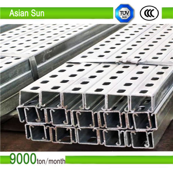 Hot Dipped Galvanized Photovoltaic Bracket for Solar Mounting System pictures & photos