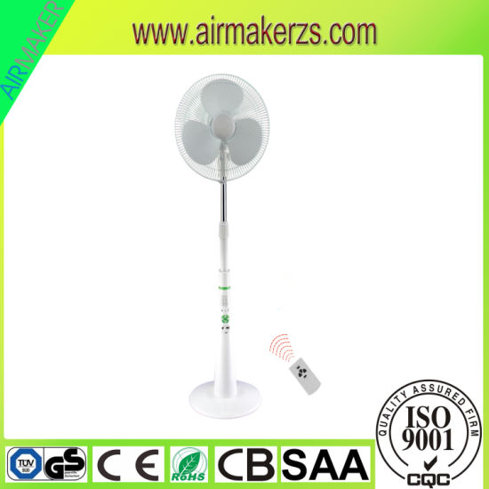 Nigeria/Egypt Hot Sale Rechargeable Standing Fan, Rechargeable Pedestal Fan pictures & photos