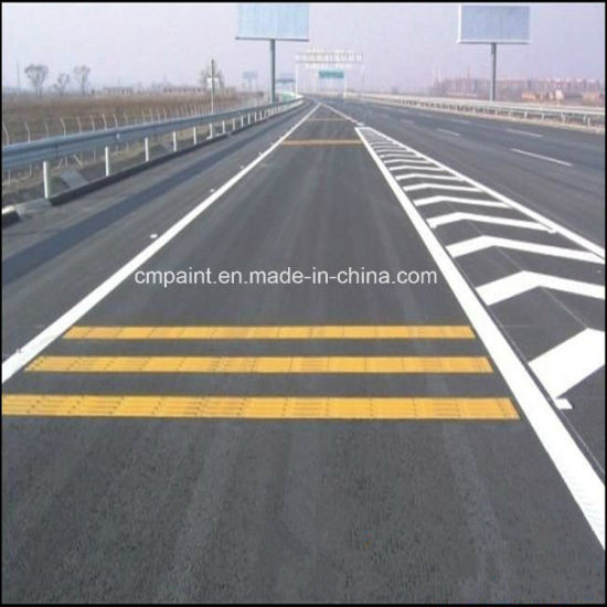China Yellow & White Reflective Hot-Melt Road Marking Paint