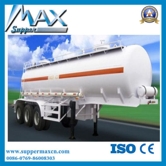 Steel Aluminum Fuel Transport LPG Tank Trailer pictures & photos
