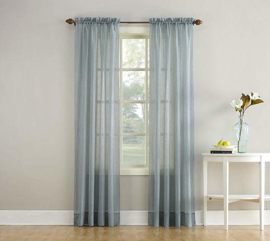 Sheer Curtain Panels Window Treatment