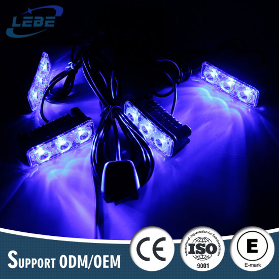 Factory Wholesale Emergency Vehicle Car Front Grill LED Police Strobe Light