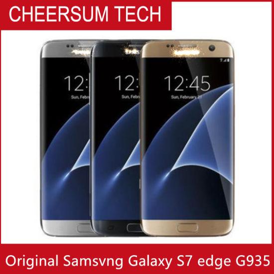 "Samsvng Galaxy S7 Edge G935 Original Unlocked Lte Android Mobile Phone Octa Core 5.5"" 12MP&5MP 4GB RAM 32GB ROM"
