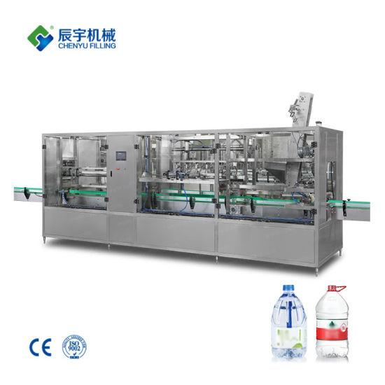 Full Auto Type Big Bottle Middle Bottle Liner Type Water Filling Machine Washing Filling Sealing Machine