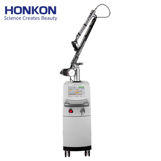 Honkon Cost-Effective 1064nm & 532nm Q-Switched ND: YAG Laser Pigment Lesions Tattoo Removal Vertical Machine pictures & photos