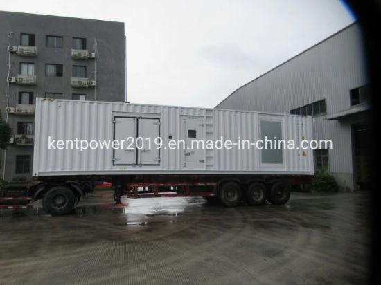1250kVA/1000kw Cummins Engine Container Electirc Generator with ISO9001