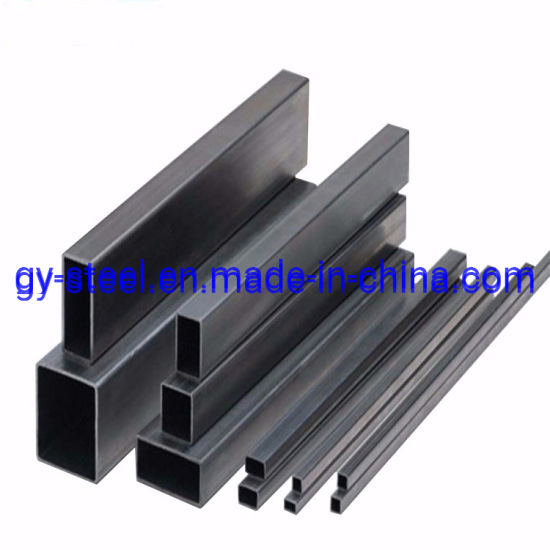 Black Iron Pipe Prices& Weld ERW Steel Pipe Rectangular Tube Steel Square Tube