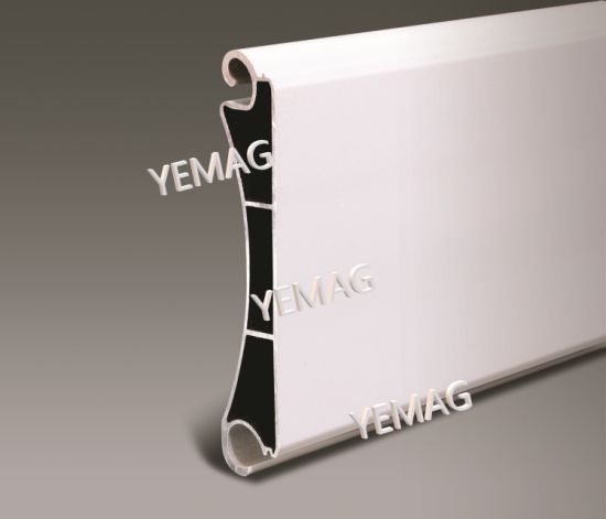 Extruded Aluminium Profile for Industrial Roller Shutter Door Garage Door