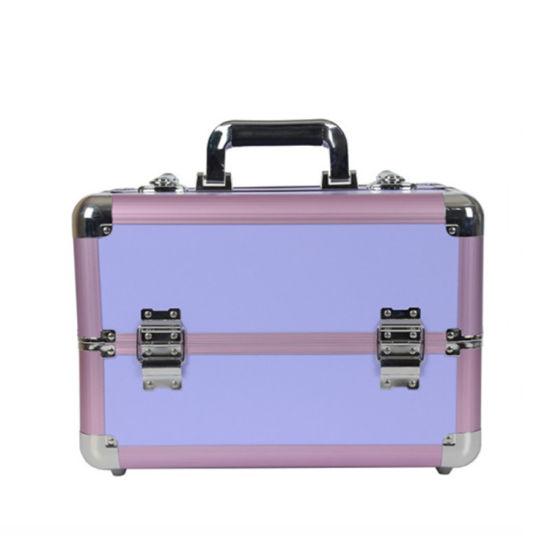 Large Makeup Train Case Portable