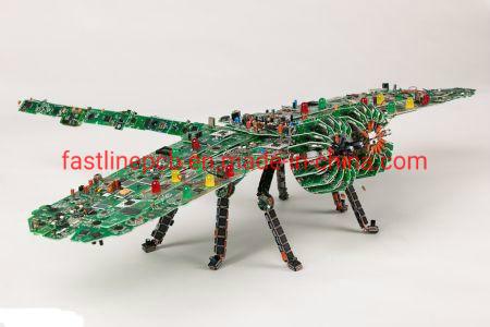 Smart Robot PCB Fabrication, PCB Assembly One Stop Service, PCBA Boards