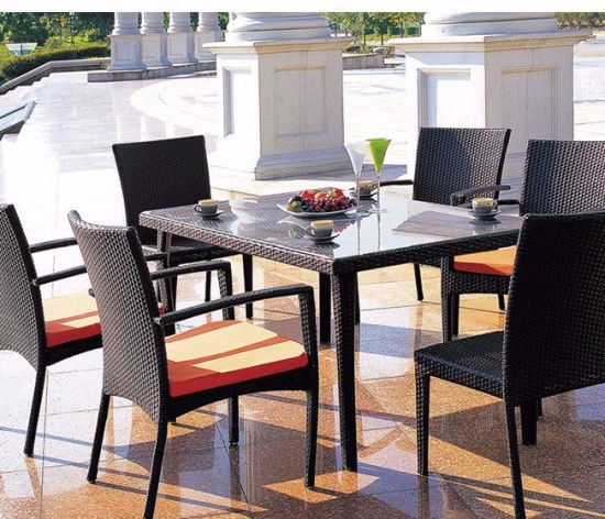 Outdoor Wicker Table Ad Chairs furniture