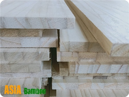 Edge Jointed and Finger Jointed Paulownia Board pictures & photos