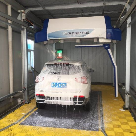 Fast car washing touchless car washer auto car wash machine