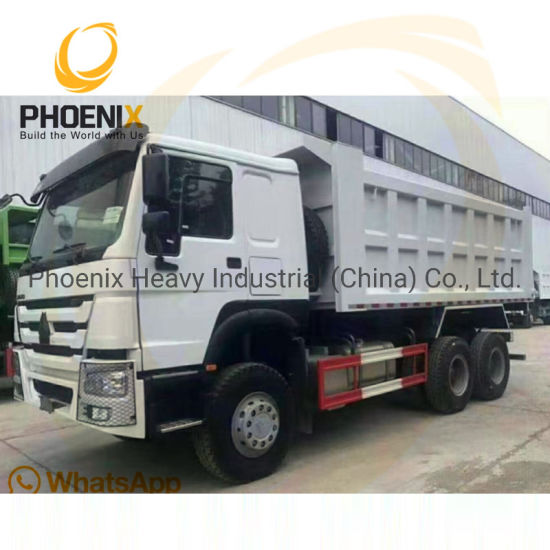 Best Condition Used Sinotruck HOWO 10 Tires Tipper Low Price Dump Truck for Africa Market