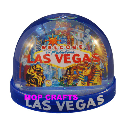 Plastic Snowball of Promotional Snow Globe Gifts Items