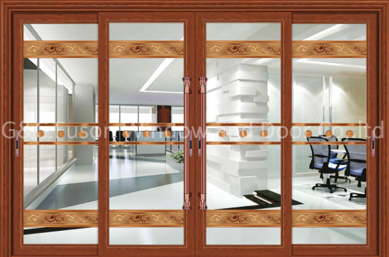 Aluminum +Glass Single Hanging Sliding Interior Doors