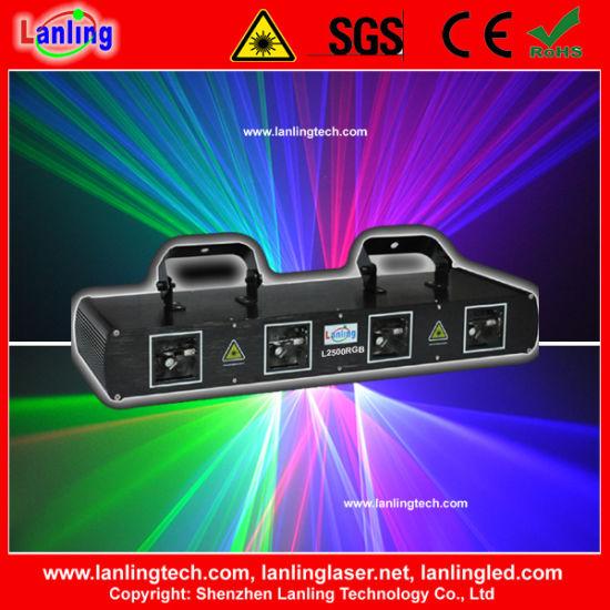 Most Popular 4 Colors 4 Heads DJ Laser Lights for Sale