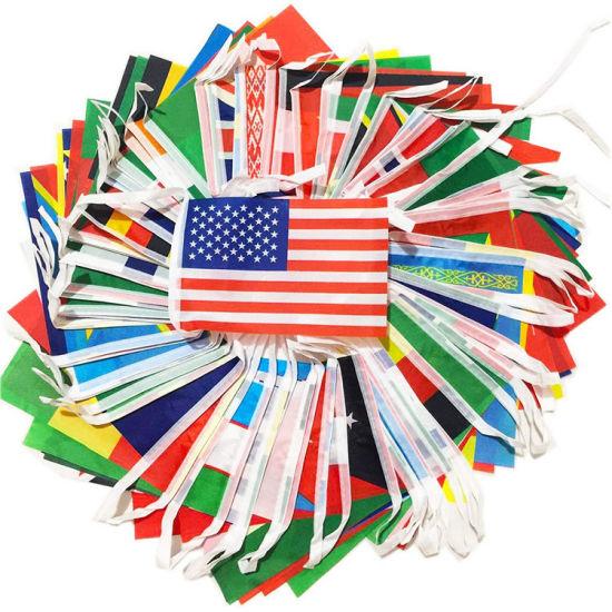 Olympics International Flags Bunting Banner Flag
