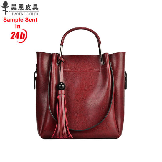 315f0c0250 Guangzhou Factory PU Leather Fashion Designer Handbags Classic Ladies Tote Women  Bag. Get Latest Price