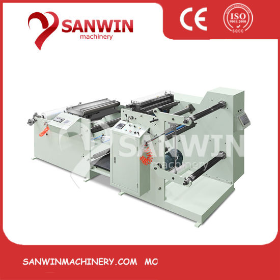 PP PE PVC Roll Thermal Paper Slitting Machine Paper Cutting Machine Label Slitter Rewinding Machine