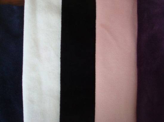 Velvour Knit Fabric for Women Garments Use pictures & photos