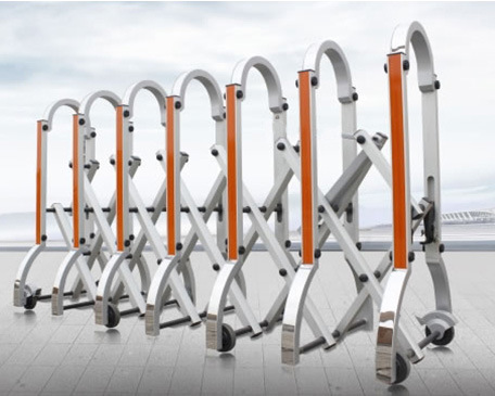 Traffic Barrier Is Designed for Road Traffic and Car Parking