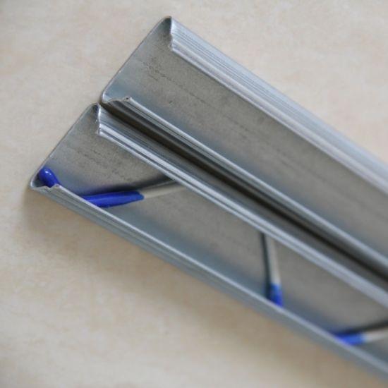 1.1mm Greenhouse Aluminum Film Lock Channel Aluminum Profile