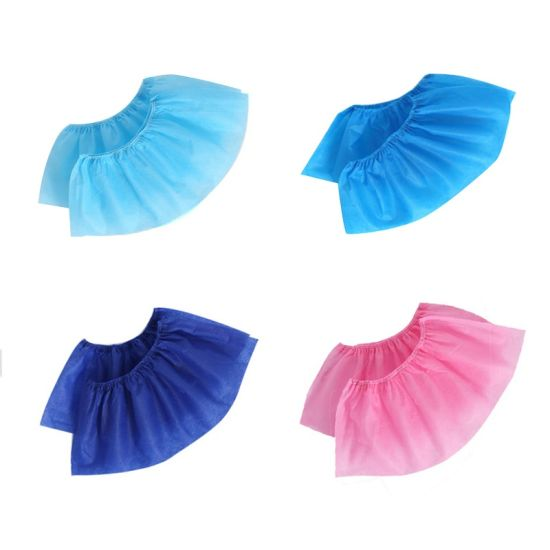 100% PP Nonwoven Fabric Disposable Hospital Work Medical Grade Shoe Cover FDA, Ce, ISO