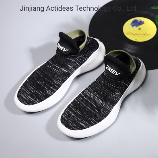 Casual Flat Sock Shoes New Trend Fashionable Men Sneakers