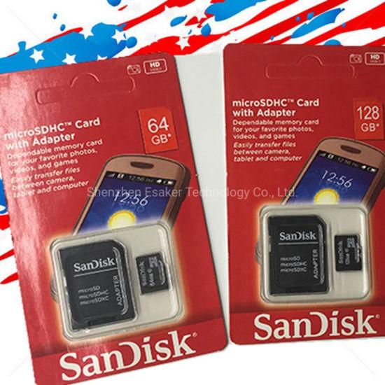 100% Factory Wholesale Real Capacity Memory Card 8GB 16GB 32GB 64GB 128GB Micro SD Card Class 10 High Speed TF Card